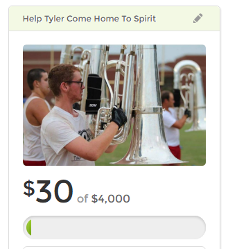 As we seek to live a healthier & toxic-free lifestyle through food lessening chemical exposure, this young man seeks to do it through the rigorous demands of marching, eating balanced meals & playing music. Please join me in helping him reach his dream of marching with Spirit of Atlanta Drum and Bugle Corps.